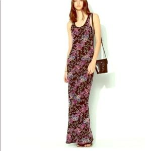Band of Gypsies Floral maxi dress small NWT